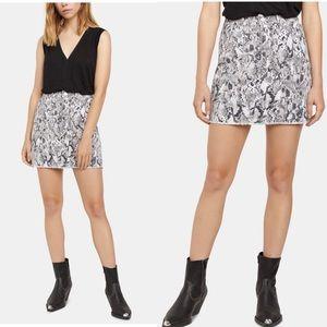 NWT Sanctuary Snakeskin-Print Mini Skirt 27
